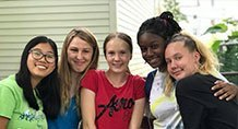 Neighborhood Church of Dorchester teens